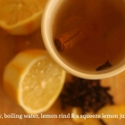 Feeling poorly? Make this: Hot Toddy