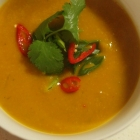 Pumpkin & Ginger soup