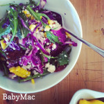 Just call me Bev: Fat mole salad