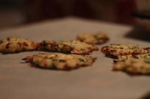 Cauliflower & Parmesan crisps