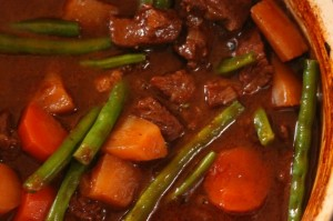 Beef and Vegetable Stove top Stew