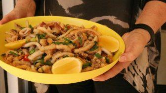 Ladies lunch: Salt & Pepper Squid