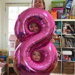 Harper turned 8!