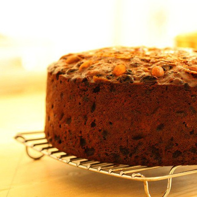 My Christmas fruit cake recipe is up on the blog today.